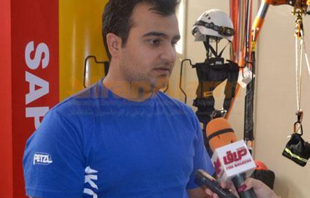 حسین ادراکی، مدرس بینالمللی کار و نجات در ارتفاع از شرکت کوه ویسی