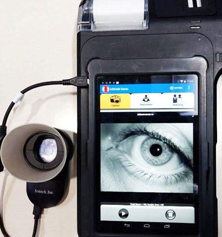 میکرو ATM های بیومتریک چشمی در هند