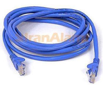 براي اتصال بين سوئيچ شبکه و پچ پنل و همچنين اتصال بين کامپيوتر (کارت شبکه) و پريز شبکه از پچ کورد استفاده مي شود