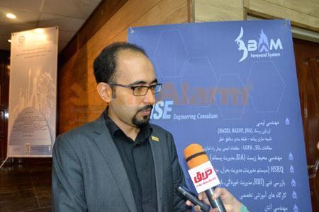 سید مجتبی ابطحی، مدیر عامل شرکت بام فرآیند سیستم