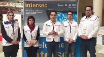 تیم خبری ایران آلارم در نمایشگاه اینترسک 2017