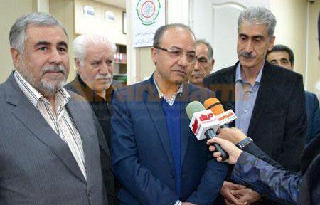 بازدید رئیس اتاق اصناف تهران وايران از اتحادیه