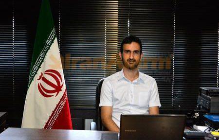 علی کریمی، مدیر عامل مجموعه سپاهان الکترونیک