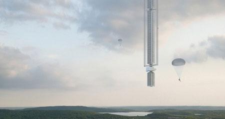 برج Analemma ؛ آسمان خراشی که از یک سیارک در حال گردش معلق میشود