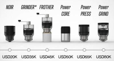 با FUSE آشنا شوید؛ قهوه سازی با طراحی ماژولار که امکان تهیه نوشیدنی به هنگام حرکت را فراهم می کند