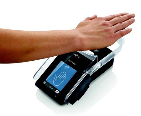 کنترل دسترسی با کف دست