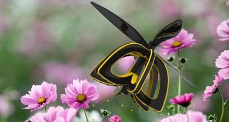 دانشجوی گرجستانی یک پهپاد شبیه به زنبور برای گردهافشانی طراحی کرد