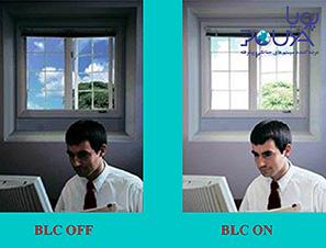 تکنولوژی BLC در دوربین های مدار بسته