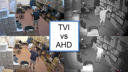 TVI در برابر AHD – بهترین نوع دوربین امنیتی HD کدام است؟