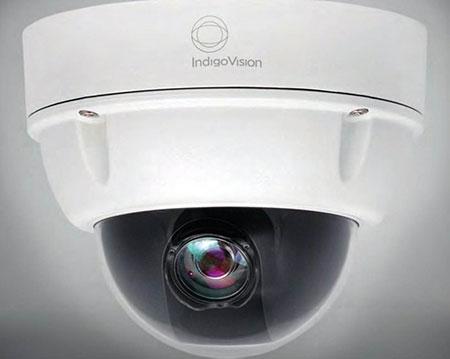 IndigoVision ابتدا و انتهای گستره 11000 را با دوربين های ثابت سقفی HD IP تکميل کرده است