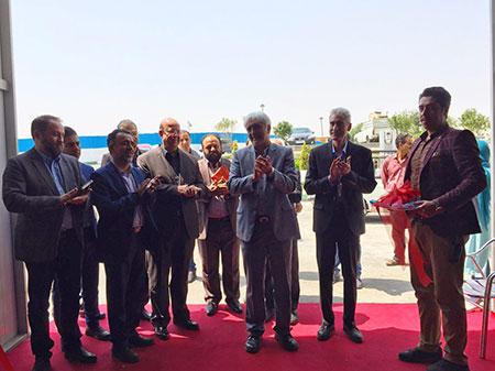 مراسم افتتاحيه دومين دوره از نمایشگاه ٥ روزه ايران رسانه