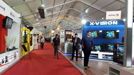 روز دوم از نمایشگاه پنج روزه ایران رسانه آغاز شد