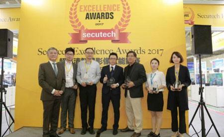 برندگان جوایز Secutech 2017 در بخش دوربین های مداربسته هوشمند با قابلیت 4K UHD