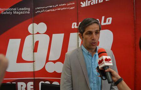 جلال ملکی، کارشناس و سخنگوی سازمان آتشنشانی