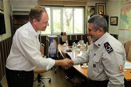 همکاری آتش نشانی های تهران و برلین برای استفاده از تجربیات یکدیگر