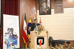 قدردانی از بسیجیان فعال در همایش بسیجیان سازمان آتش نشانی تهران