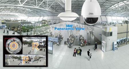 Solution یکپارچه نظارتی 360 درجه VIVOTEK