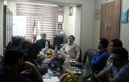 جلسه آشنایی با پرتال تعیین ارزش کالا توسط اتحادیه حفاظتی و الکترونیکی تهران در حال برگزاری است