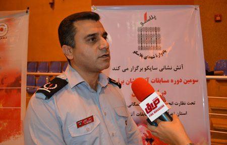 حسین مهرابی، رئیس اداره آتشنشانی شرکت ایران خودرو