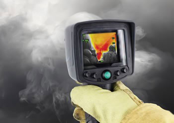 تصويربردار حرارتي با قابليت تشخيص نشت هاي شيميايي يا گازی