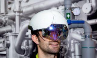 کلاه ایمنی هوشمند برای محیطهای کاری
