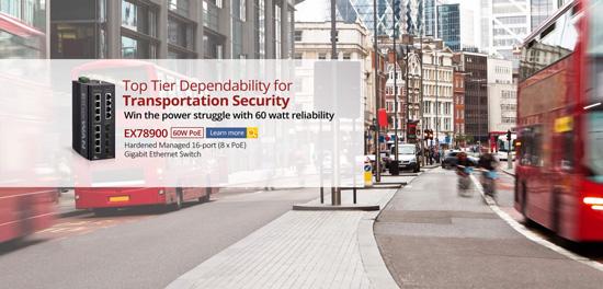 سوئیچ های PoE 60 وات آینده مصرف برق تجهیزات امنیتی صنایع بزرگ را می سازند