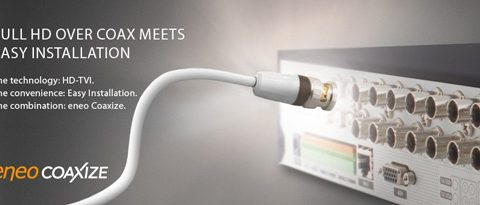 Eneo ویدئوی full HD مبتنی بر کواکس را تا 500 متر فراهم می سازد