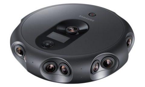 دوربین سه بعدی سامسونگ 360 Round ؛ برای حرفهایها