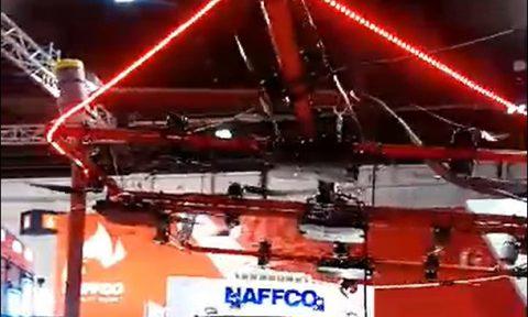 پهباد اطفا حریق Naffco