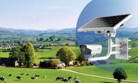 مانیتورینگ با دوربین مداربسته خورشیدی